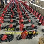 国标加强型1吨6米环链电动葫芦DHs380V倒链提升机
