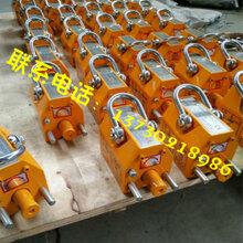 出厂0.1吨永磁起重器100kg永磁吸盘最低价产品参数图片