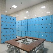 陜西西安ABS更衣柜廠家學生書包柜圖片