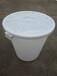 加厚塑料大白桶批發白色敞口桶多少錢自家釀酒大白桶