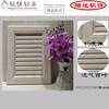 全铝橱柜门板厂家橱柜衣柜浴室柜全铝门型材铝型材材料批发
