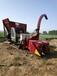 全新高速轉盤秸稈收獲機高粱甘蔗收割回收機改裝履帶式青儲機廠家