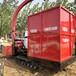 大小型玉米秸稈青儲收獲機巨菌草切碎收集機廠家直銷履帶式青儲機