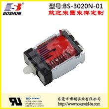 DC24V长时间通电动作灵活长寿命纺织机械电磁铁保持式电磁铁