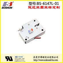 DC6V通电频率ED25%性价比高长寿命家用电器电磁铁推拉式电磁铁