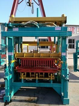 建丰砖机供应山东全自动免烧砖机德州彩砖机模具质量保证