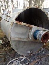 出售二手不锈钢搅拌罐搪瓷反应釜冷凝器夹层锅