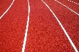 天津塘沽彩色塑膠場地鋪設塑膠跑道場地施工EPDM塑膠跑道施工混合型塑膠跑道