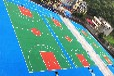 北京彈性丙烯酸籃球場翻新建設施工劃線籃球場施工多少錢