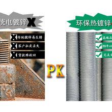 專業生產大量熱鍍鋅絲杠牙條全絲現貨圖片