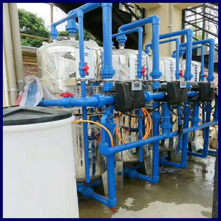 桂林市厂家山泉水浑浊除泥沙过滤器广旗儿童泳池净水设备效果稳定