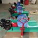 足球場梳理工具草絲梳理機150型柴油梳草機
