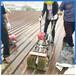电动汽油除锈打磨机彩钢瓦除锈机彩钢瓦专用翻新机
