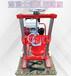 公路護欄鉆孔打眼機5.5馬力砼取芯鉆機巖石取樣鉆機振鵬機械設備