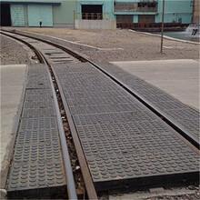 天津铁路平交道口垫板矿用橡胶道口板图片