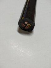 双护套pur电缆、耐磨抗拉卷筒电缆、黑色4乘16起重电缆图片