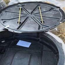 吹纜接續人孔井硅芯管配套使用免維護通訊人孔井圖片