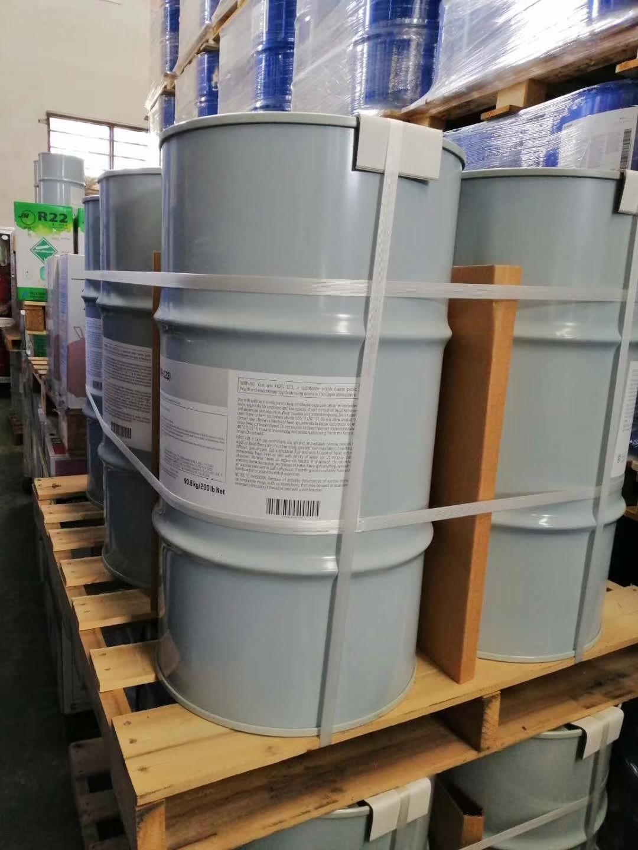 新型制冷剂杜邦R508B目前市场应用情况价格多少是否有现货