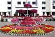 怒放---立体铁艺多层大型花架市政景观超大花盆花箱