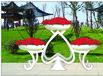 格玛花架黑桃A-立体花架、园林雕塑、绿色景观花架高分子复合花盆花箱