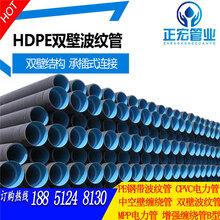 庆云县排水排污波纹管德州hdpe中空壁缠绕管直销图片