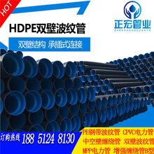 任城区双壁波纹管济宁塑料排污排水管工厂价热销图片
