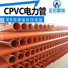 芜湖cpvc电力埋地管厂商供应三山区Pvc-c高压电力管厂家直销图片