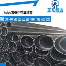 丽水畅销hdpe排污螺旋管热线hdpe波纹管规格齐全图片
