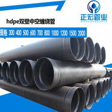 绍兴厂家直销pe钢带增强波纹管pe排污水管道畅销品质图片