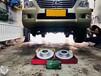 海南英能汽配雷克萨斯570ECFRONT打孔划线刹车盘改装案例