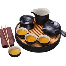 功夫茶具厂家订制广告茶具套装紫砂茶具定做图片