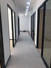 深圳办公室中空百叶玻璃隔断墙制造厂家价格
