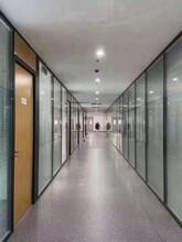 東莞大朗辦公鋁合金百葉玻璃隔斷廠家圖片