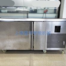 揽坤商用五层速冻柜海鲜包子快速冷冻机定制急速冷冻柜工作台图片