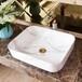 歐式臺上簡約黑白洗手盆長方形彩洗手盆金衛浴陶瓷洗手盆