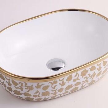 深款陶瓷洗手盆