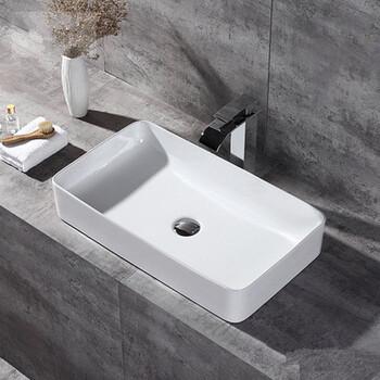 超薄长方形洗手盆