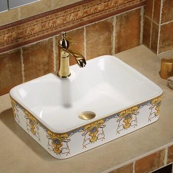 一体成型洗手盆