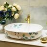 彩花陶瓷盆