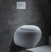 工程外贸挂墙陶瓷马桶暗装挂墙马桶直冲陶瓷价廉座便器马桶图片