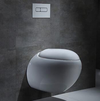 工程外贸挂墙陶瓷马桶暗装挂墙马桶直冲陶瓷价廉座便器马桶