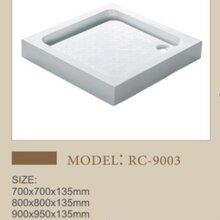 潮州方形亚克力淋浴盘卫生间多尺寸可选底座图片