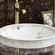 素色陶瓷洗手盆