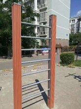 石家庄塑木健身器材生产完成_塑木健身路径器材