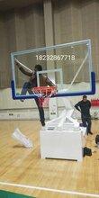 北京手动液压篮球架安装调试完成