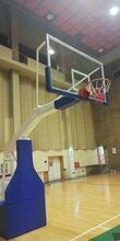 室内手动液压篮球架-专业比赛篮球架-篮球架厂家直销