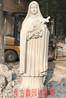 天然石材大理石教堂人物雕塑制作汉白玉圣特蕾莎修女圣女大德兰雕塑定制St.Teresa