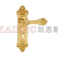 凯恩斯五金锌合金欧式门锁批发房间门锁厂家
