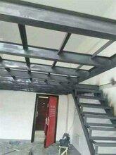 内厂房库房搭建钢结构隔层二层储物平台(铺钢板木板)