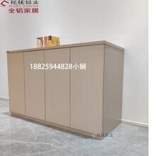 新款整板全铝鞋柜防潮防臭无甲醛各种规格全铝家具型材批发图片